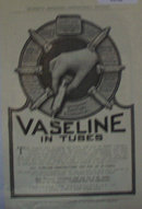 Vaseline In Tubes 1907 To 1912 Ad