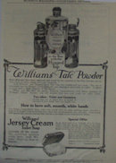 The J. B.Williams Co. Soap And Talcum Powder 1907 To 1912 Ad.