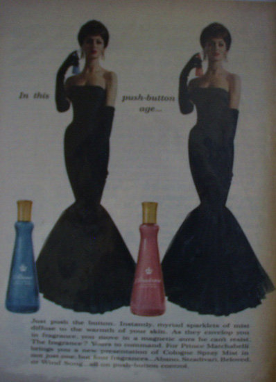 Prince Matchabelli Cologne 1960 Ad