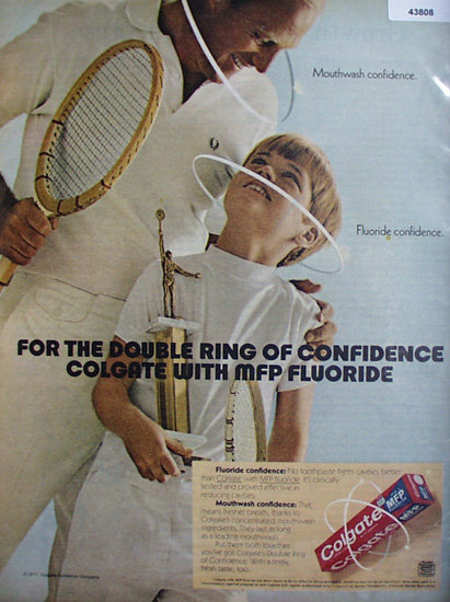 Colgate Toothpaste 1971 Ad