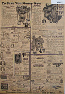 Sears Horse Saddles And Accessories 1933 Ad