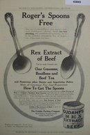 Cudahys Rex Extract of Beef 1907 To 1912 Ad.