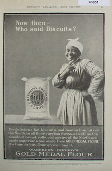 Washburn Crosbys Gold Medal Flour 1907 To 1912 Ad.
