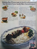 Holiday Inn Foods 1972 Ad