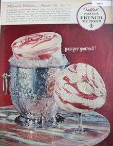 Sealtest Prestige French Ice Cream 1963 Ad