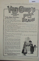 Van Camps Pork And Beans 1907 To 1912 Ad