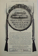 Montclair Military Academy 1907 To 1912 Ad