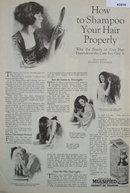 Watkins Mulsified Cocoanut Oil Shampoo 1920 Ad