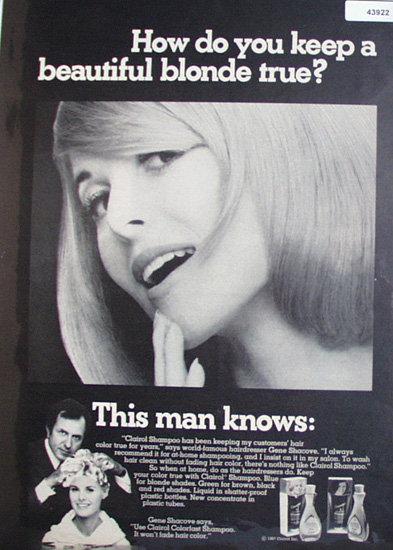 Clairol Colorfast Shampoo 1967 Ad
