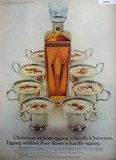 Four Roses Eggnog 1967 Ad.