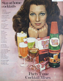 Party Tyme Cocktail Mixes 1972 Ad