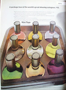 Nine Flags Shaving Cologne 1967 Ad