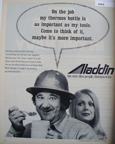 Aladdin Thermos 1972 Ad