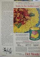 Del Monte Golden Corn 1953 Ad