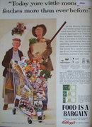Kelloggs Corn Flakes 1963 Ad