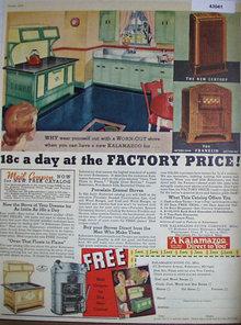 Kalamazoo Stove Co. 1935 Ad