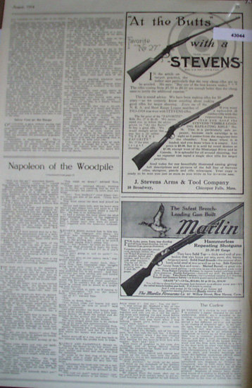 J. Stevens Arms And Tool Co. 1914 Ad.
