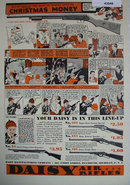 Daisy Air Rifles 1936 Ad