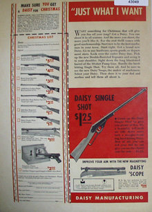 Daisy Manufacturing 1938 Ad