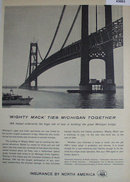 Insurance by North America 1958 Ad.