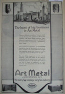Art Metal 1920 Ad