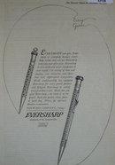 Eversharp Pencils 1920 Ad