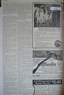 Victor Talking Machine Co. 1914 Ad