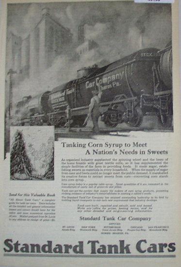 Standard Tank Car 1920 Ad.