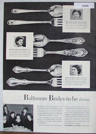 International Silver Co. 1950 Ad