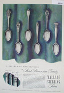 Wallace Sterling Silver 1950 Ad