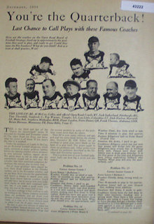 Youre The Quarterback Series 1938 Article