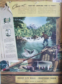 Ocean City Reels And Montague Rods 1948 Ad