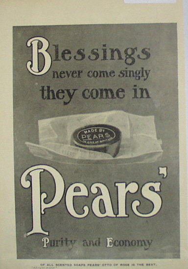 Pears Soap 1907 To 1912 Ad