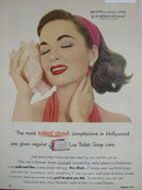 Lux Toilet Soap 1953 Ad