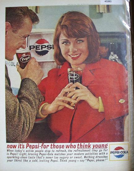 Pepsi Cola 1963 Ad
