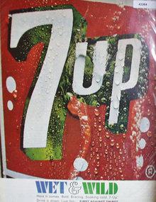 Seven Up 1967 Ad