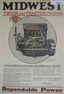 Midwest Truck And Tractor Engine 1920 Ad.