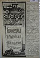 Atlas Truck Corp. 1920 Ad