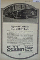 Selden Motor Trucks 1920 Ad