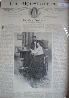 The Housekeeper In The Spirit 1903 Story.