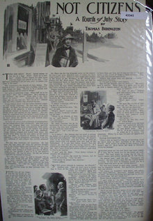 Not Citizen A Forth Of July Story 1914