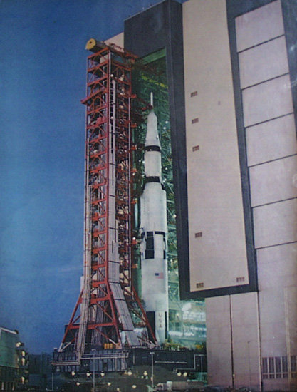 Fiery Lightning And Mighty Saturn V 1967 Article