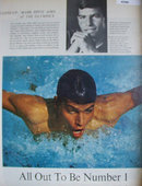 Mark Spitz Aims At The Olympics 1967 Article