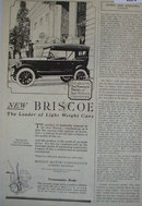 Briscoe Touring Car 1920 Ad