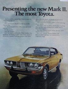 Toyota Mark II 1972 Ad