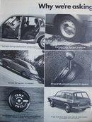 Volkswagen 412 Car 1972 Ad