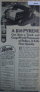 Pyrene Fire Extinguishers 1920 Ad