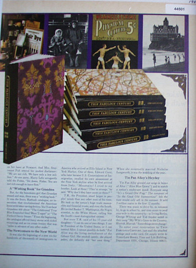 The Fabulous Century 1969 Books Ad