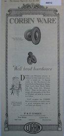 Corbin Ware Hardware 1920 Ad