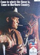 Marlboro Cigarettes 1969 Ad